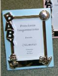 Baby Blue Photo Frame, PERSONALISED, ref BBPF